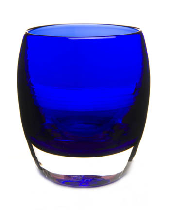 glassybaby in 'blue velvet' by Lee Rhodes