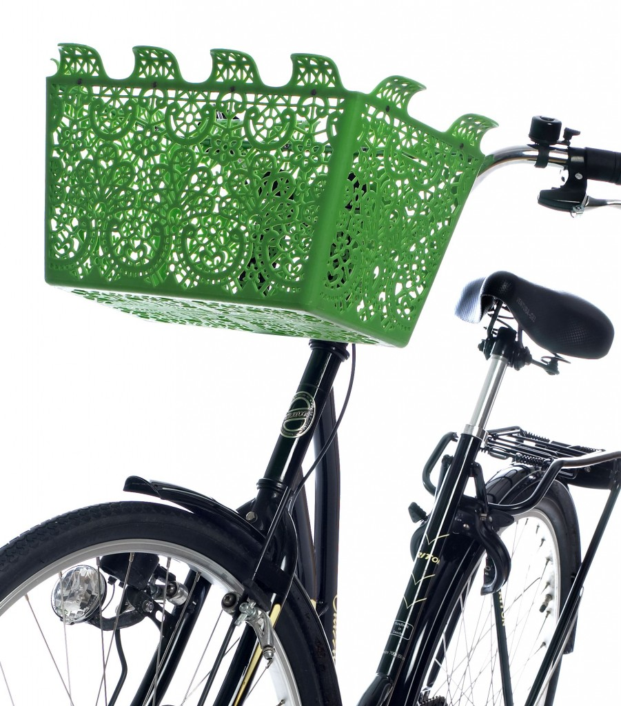 Carrie bike basket by Marie Louise Gustafsson