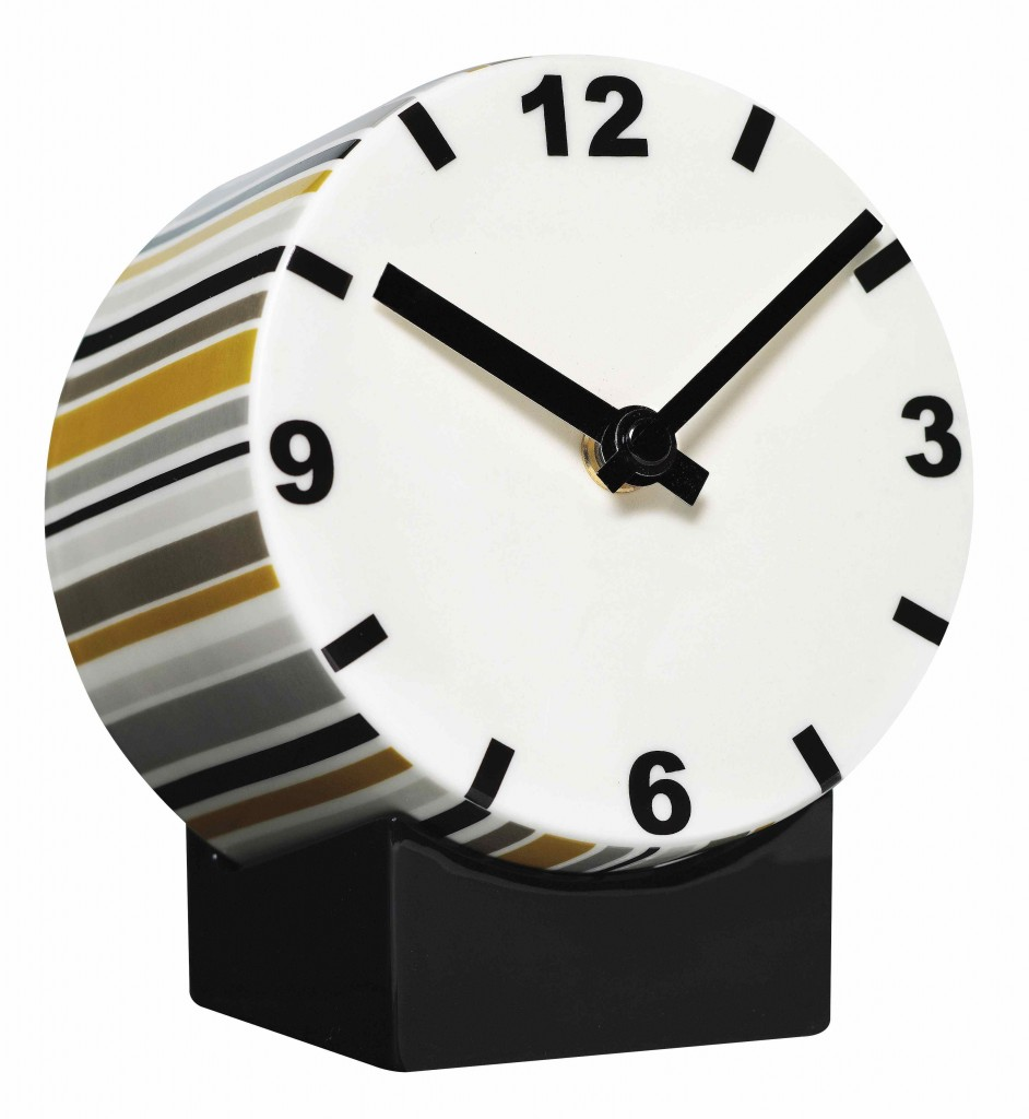 Ceramic clock by xx for DHS