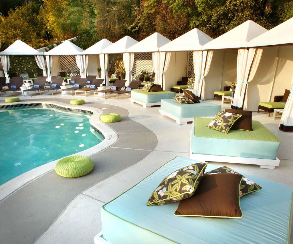 W Hotel Westwood Cabanas By Thom Filicia