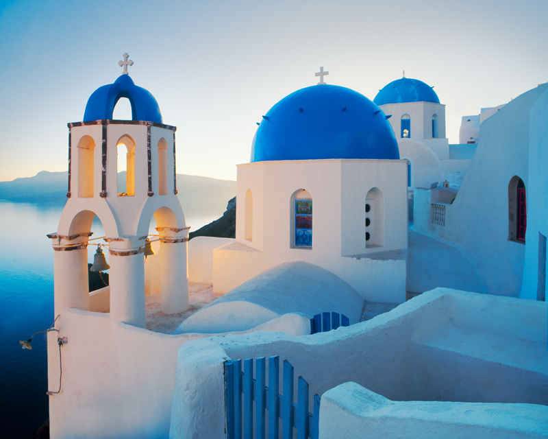 Santorini, Greece - photograph by Jim Nilsen
