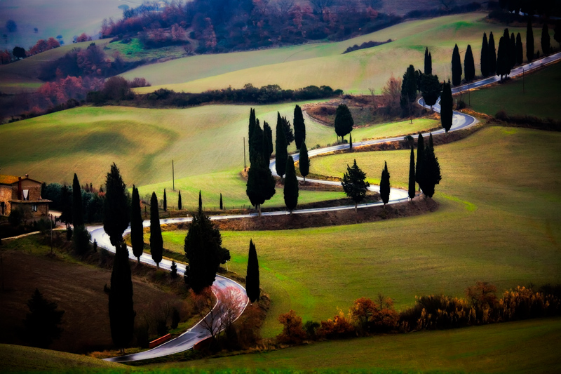 Tuscany, Italy - photograph by Jim Nilsen