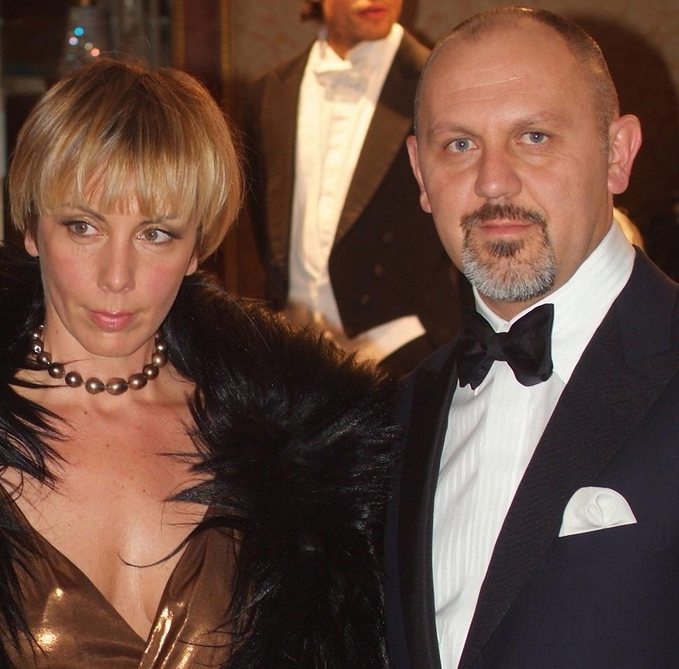 Luna Scamuzzi and Paolo