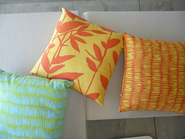 Pillows for SEE DESIGN by Donna Gorman