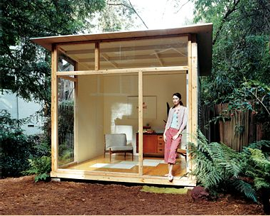 Edgar blazona furniture prefab home designer for Prefab garden room