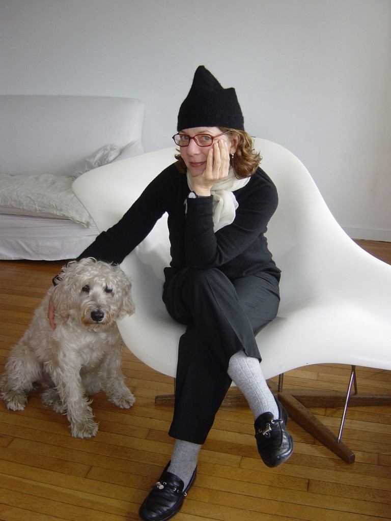 Maira Kalman and Pete, photograph by Rick Meyerwitz