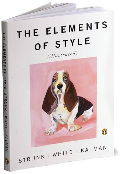 The Elements of Style, illustrated by Maira Kalman