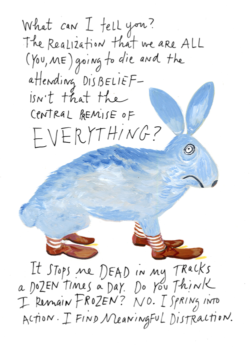 Going to die by Maira Kalman