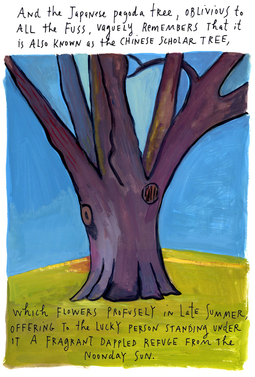 Japanese tree, by Maira Kalman