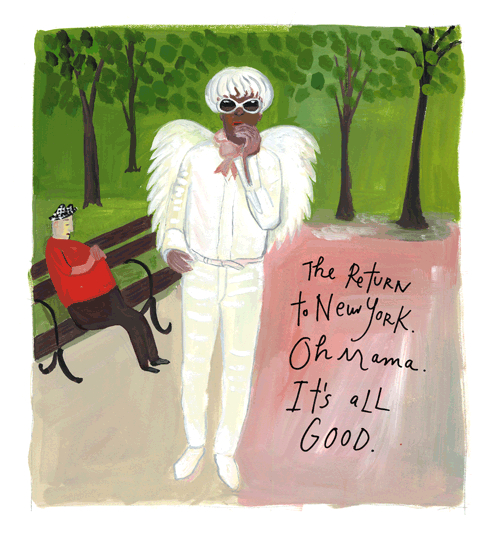 Return to New York, by Maira Kalman