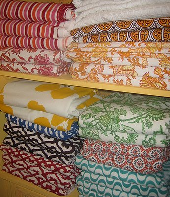 Textiles in the Roberta Roller Rabbit collection