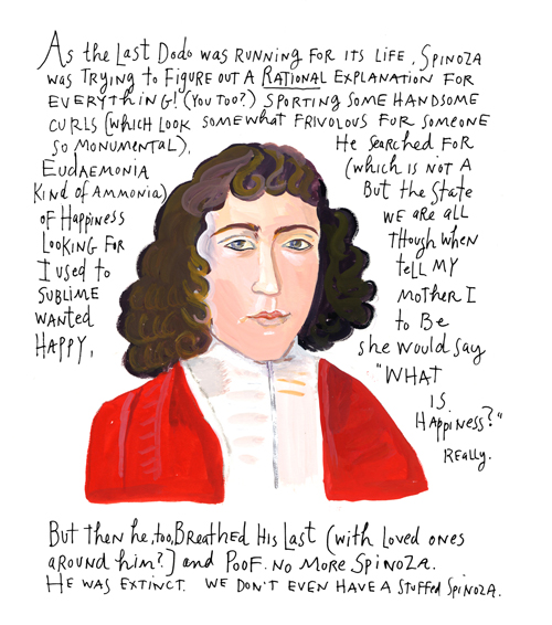 Spinoza by Maira Kalman