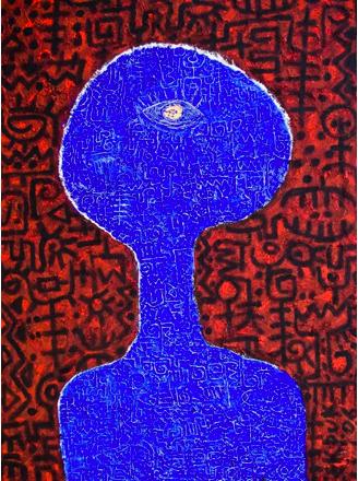 Omniscience by Victor Ekpuk