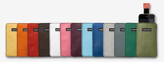 F22 iPhone sleeves by FREITAG