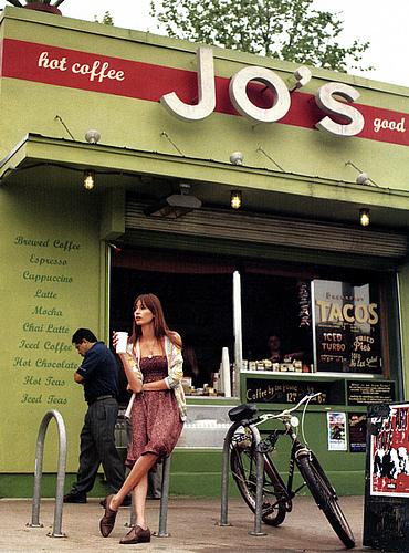 Jo's Coffee on South Congress in Austin, property of Liz Lambert
