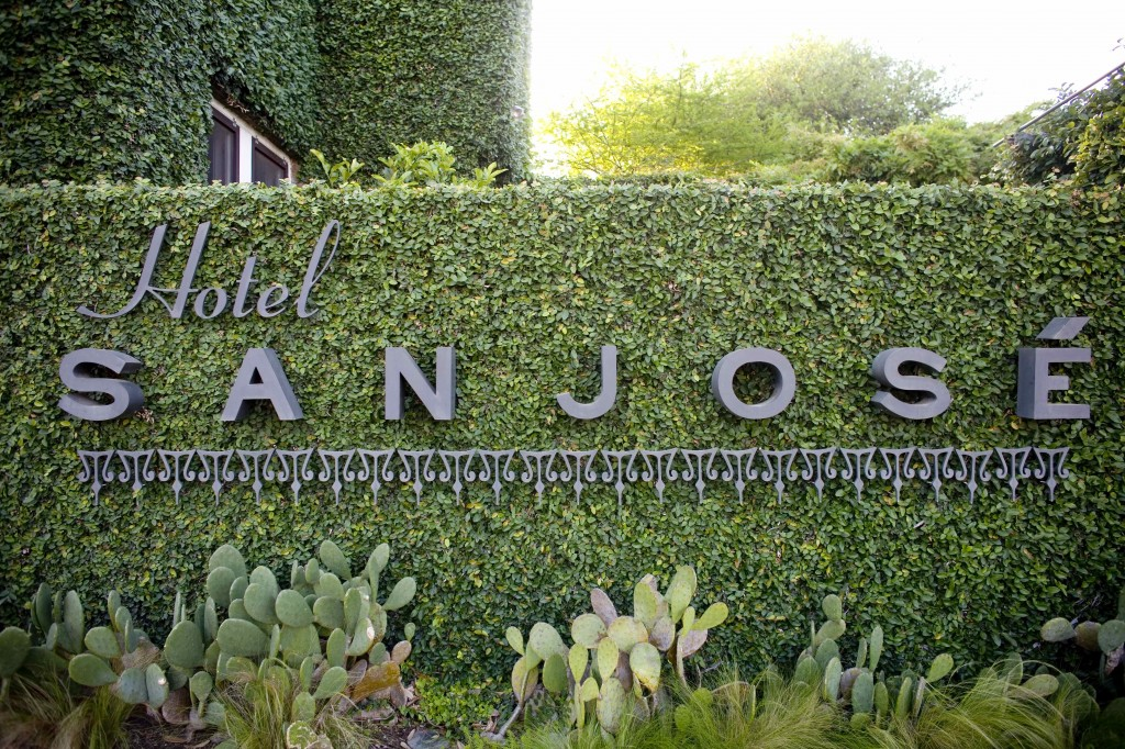 Hotel San José in Austin, property of Liz Lambert