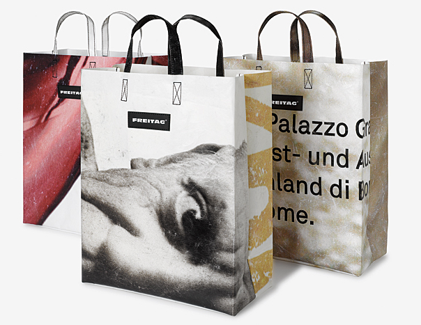 Part of the limited edition FREITAG bags for museums