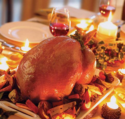 A Thanksgiving feast