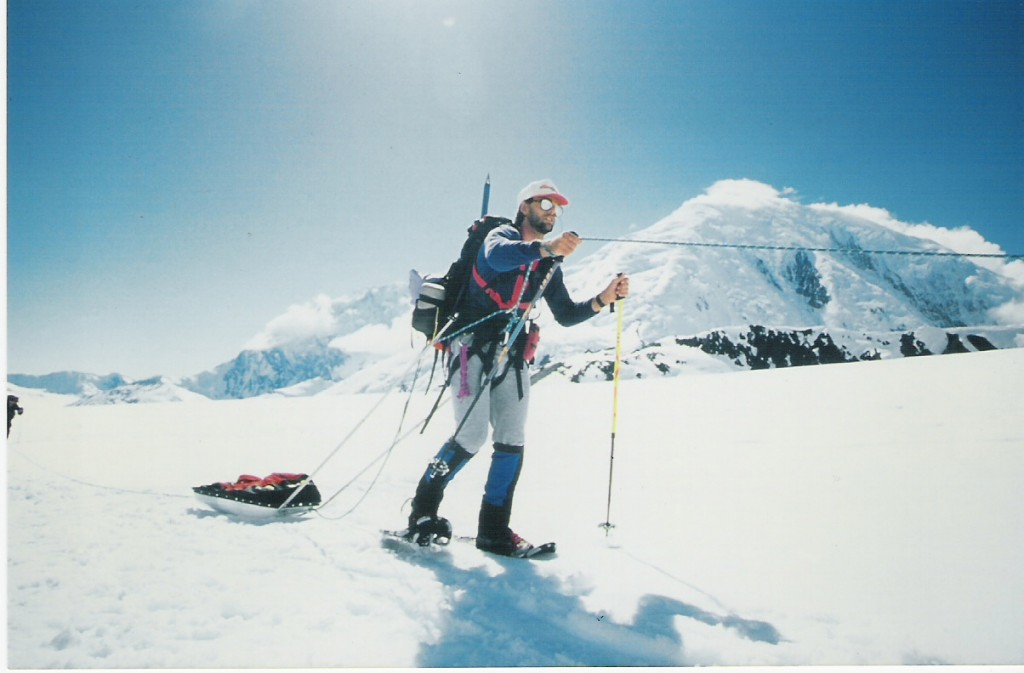 Erik Weihenmayer on Mt. McKinley